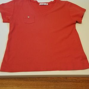 Fresh Produce coral top size L